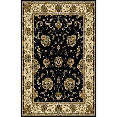Astoria Grand Agawam Black Area Rug; 5'3'' x 7'2''