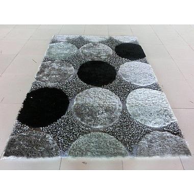 Orren Ellis Aysegul Black/Gray Area Rug; 10' x 13'