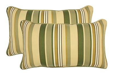 Alcott Hill Chowdhury Corded Lumbar Pillow (Set of 2)