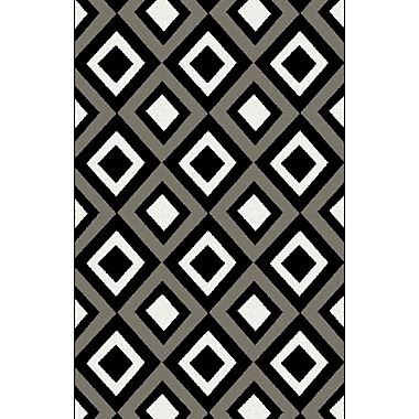 Latitude Run Dramieco Gray Area Rug; 5'3'' x 7'2''