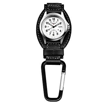Dakota Analog Clip Watch, Black/Charcoal, Men (3552-6)