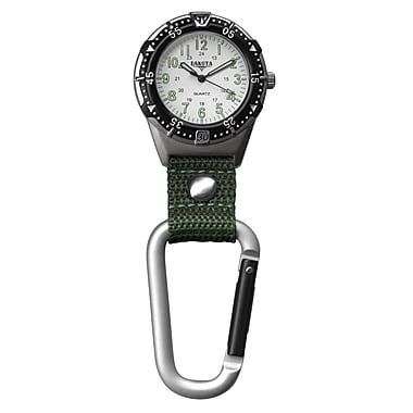 Dakota Analog Clip Watch, Green, Men (3868-5)