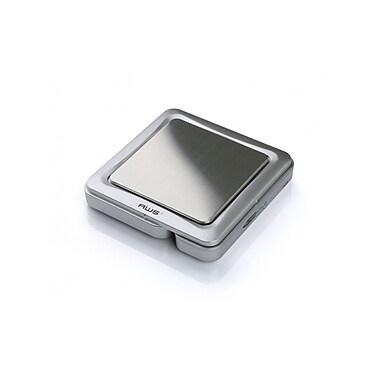 American Weigh Scales ? Balance de poche numérique à l?échelle, 100 x 0,01 g, argenté (BL100SILVER)