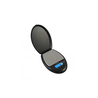 American Weigh Scales Digital Pocket Scale, Compact Design, 100 x 0.1g, Black (ES100BLACK)