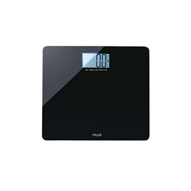 Superbe American Weigh Scales High Capacity Talking Bathroom Scale, 550 Lb. X 0.2  Lb.