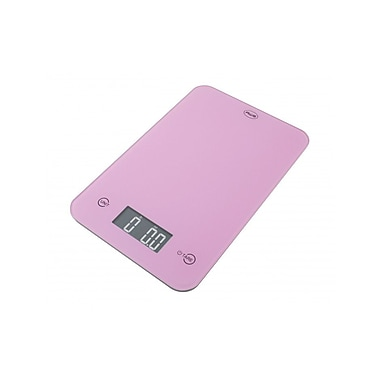 American Weigh Scales Digital Kitchen Scale, 5000g x 1g, Pink (ONYX5KPINK)