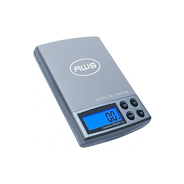 American Weigh Scales Digital Pocket Scale, 500 x 0.01g (SM501SILVER)