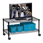 Honey-Can-Do Media Cart, Black (CRT-03937)