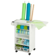 Honey-Can-Do Rolling Craft Storage Cart, White (CRT-06343)