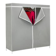 "Honey-Can-Do 60"" Wardrobe Square Tubes, Gray (WRD-03746)"