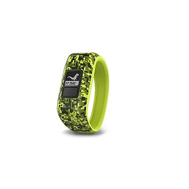 Garmin - Capteur d'activité vivofit jr., motif camouflage numérique, petit