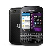 BlackBerry - Téléphone cellulaire déverrouillé Q10 remis à neuf, 3,1 po, 16 Go, 1,5 GHz bicoeur Krait, noir (RFL111LW)