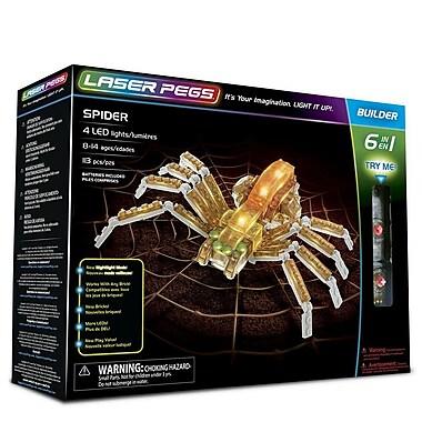 Laser Pegs ? Ensemble de construction d?araignées 6-en-1