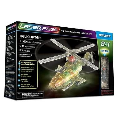Laser Pegs ? Ensemble de construction d?hélicoptères 8-en-1