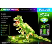 The Laser Pegs® 20-in-1 T-Rex Dinosaur Building Set