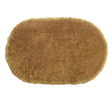 bluebellgray Ultimate Shag Bath Rug; Umber