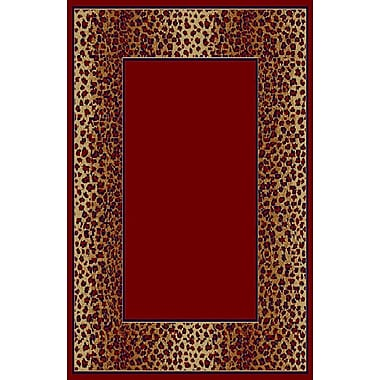 Bloomsbury Market Delia Red Area Rug; 5'3'' x 7'2''