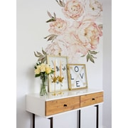 SimpleShapes Peony Flowers Wall Decal