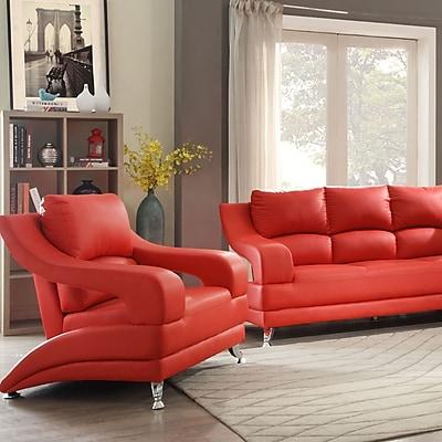 Orren Ellis Palice Modern Armchair