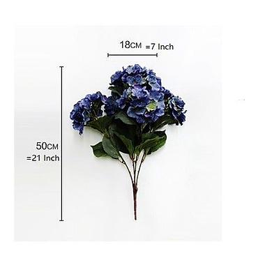 Ophelia & Co. Silk Bloom Bush Hydrangea Stem