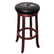 Imperial NFL 30'' Bar Stool; Baltimore Ravens