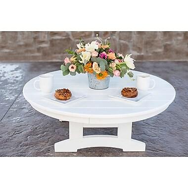 August Grove Oshawa Round Conversation Dining Table