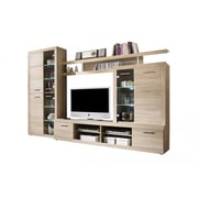 Contemp Style Cancan 2 TV 111.8'' Entertainment Center