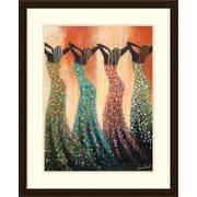 Bloomsbury Market 'Dance of the Summer Solstice' Framed Print on Wood