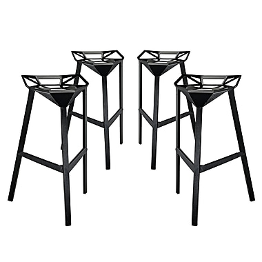 Brayden Studio Albaugh 32.5'' Bar Stool (Set of 4)