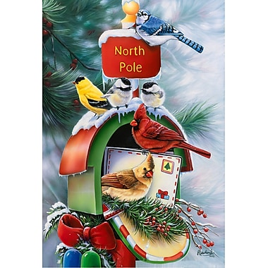 The Cranford Group North Pole Birds Garden Flag