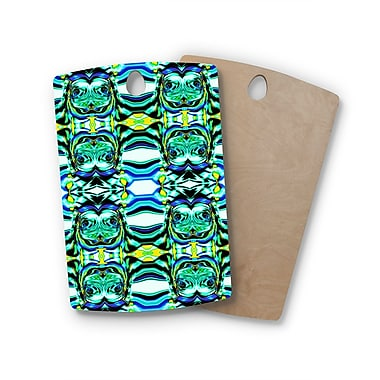 East Urban Home Dawid Roc Birchwood Inspi by Psychedelic Art 5 Cutting Board; Rectangle