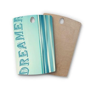 East Urban Home Ann Barnes Birchwood Dreamer Cutting Board; Rectangle
