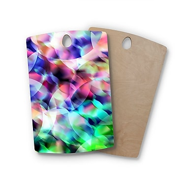 East Urban Home Gabriela Fuente Birchwood Party Pastel Abstract Cutting Board; Rectangle
