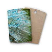 East Urban Home Ginkelmier Birchwood Rain Dandelion Photography Cutting Board; Rectangle