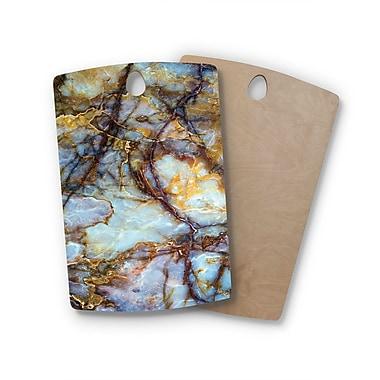 East Urban Home Birchwood Opalized Marble Cutting Board; Rectangle