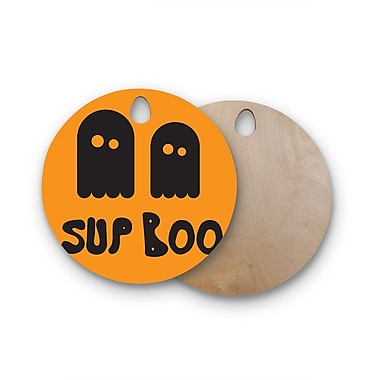 East Urban Home Birchwood Sup Boo Cutting Board; Round