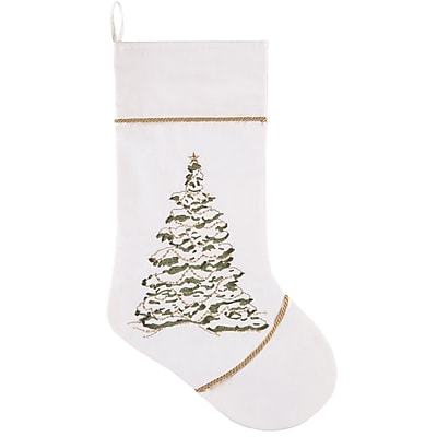 Gracie Oaks Golden Greenery Stocking
