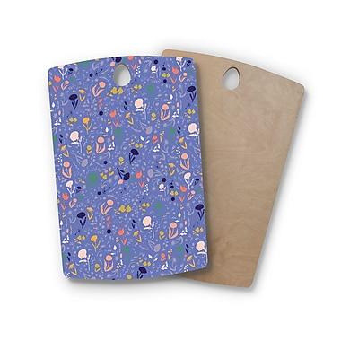 East Urban Home Akwaflorell Birchwood Pretty Little Flowers2 Lavender Vector Cutting Board