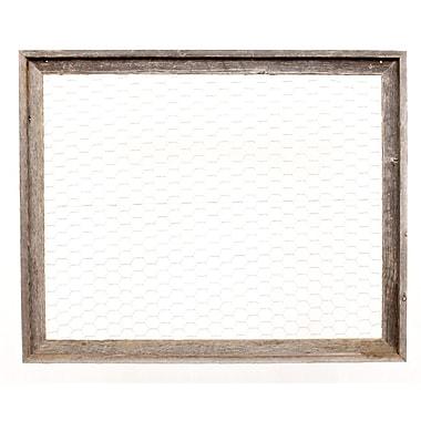 Gracie Oaks Chicken Wire Memo Board