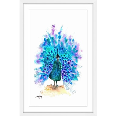 Latitude Run 'Show Your Colors' Framed Painting Print; 30'' H x 20'' W