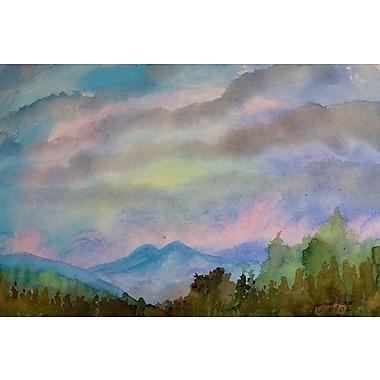Latitude Run 'Sundown' Painting Print on Wrapped Canvas; 30'' H x 45'' W