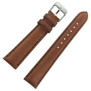 Dakota 22mm Light Brown Light Brown Oil Tanned Soft Pad Geniune Leather Strap (19822)