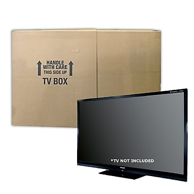 Uboxes – Boîte de déménagement pour téléviseur de jusqu'à 70 po (TVMOVEBOXES2)