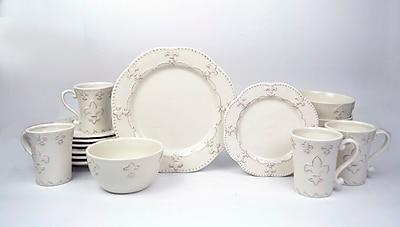 Ophelia & Co. Adi 16 Piece Dinnerware Set, Service for 4