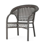 Ophelia & Co. Rotem Outdoor 3 Piece Rattan Conversation Set