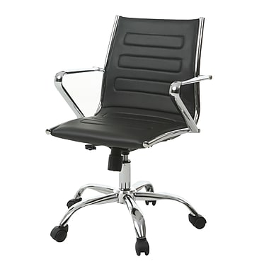 Orren Ellis Trever Desk Chair; Black