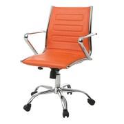 Orren Ellis Trever Desk Chair; Orange