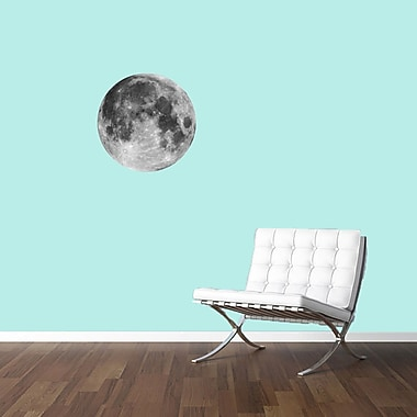 SweetumsWallDecals Moon Printed Wall Decal; 24'' H x 24'' W