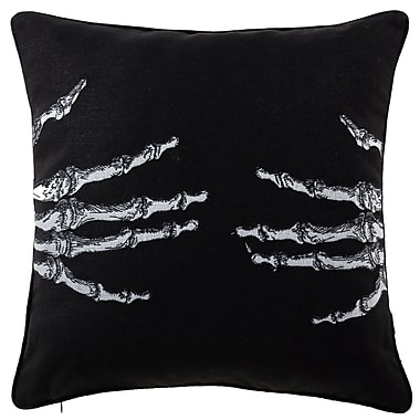 The Holiday Aisle Skellington Throw Pillow