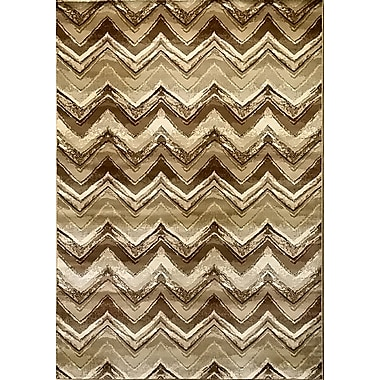 Bloomsbury Market Geren Brown Area Rug; 5'3'' x 7'2''